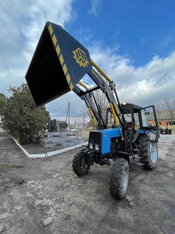 Погрузчик фронтальный КУН General X к тракторам МТЗ с ковшом 1.9 м
