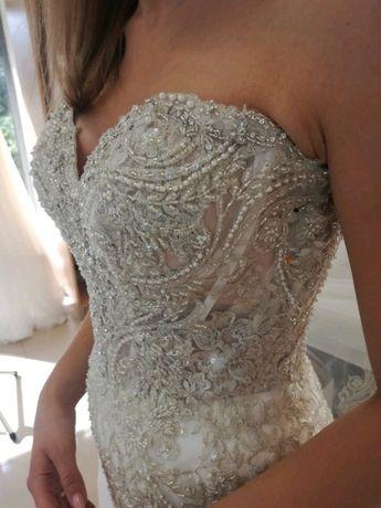 Suknia ślubna Stella York 6541, rozmiar 34/36 syrenka