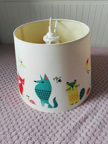 Ikea klosz lampa wisząca dla dziecka