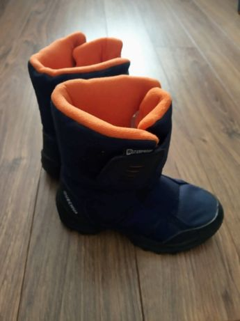 QUECHUA buty zimowe decathlon 28 dziecięce