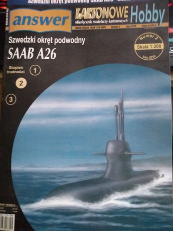 Szwedzki okręt podwodny SAAB A26