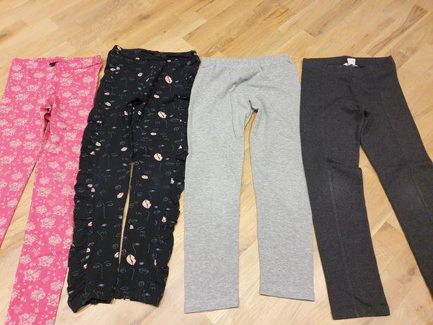 Legginsy długie spodnie Coccodrillo H&M rozm. 134