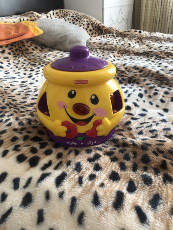 Горшочек горшок игрушка сортер Fisher Price