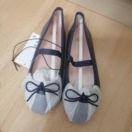 Granatowe baleriny H&M roz 29