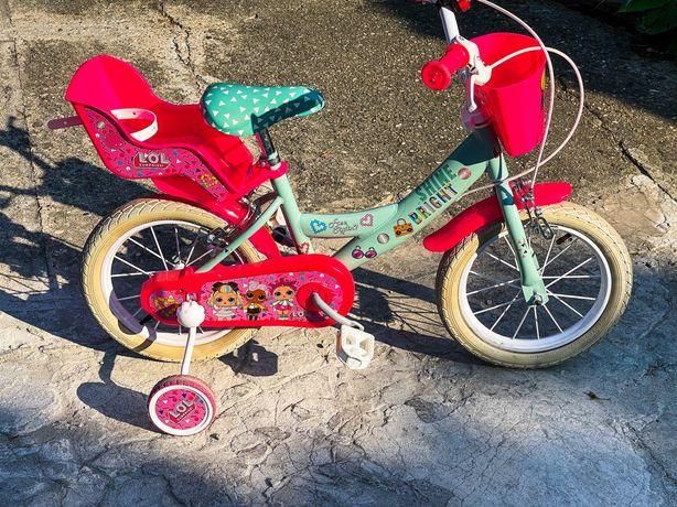LOL SUPRISE rower 14 cali dla dziewczynki