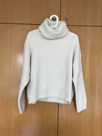 Camisola Lã Gola Alta H&M