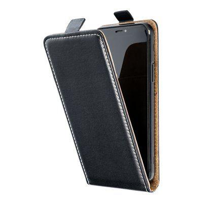 Capa Livro Vertical Slim Lmobile Iphone 12 Mini - Preto