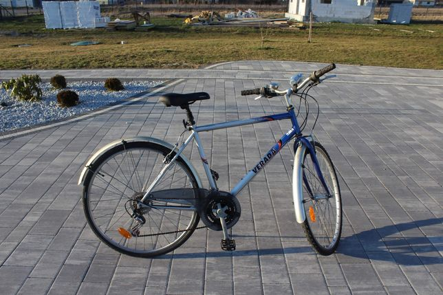 Męski rower trekkingowy Verada Conga. 28 cali, miejski