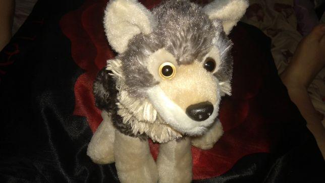 фирма мягкая игрушка волк волченок очень крутое качество как живой