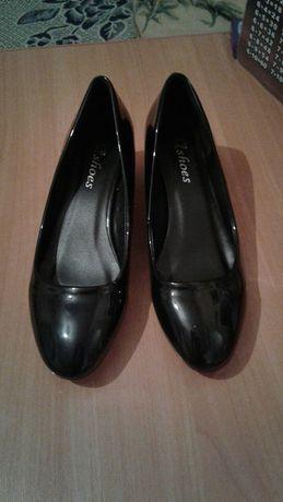 Туфли лаковые 23см (36 размер)