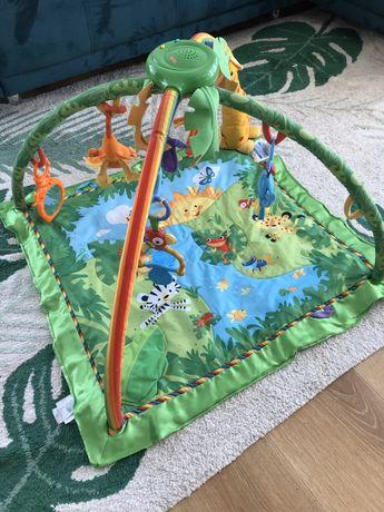 Mata edukacyjna dla niemowląt Fisher Price Rainforest Tropikalny Las