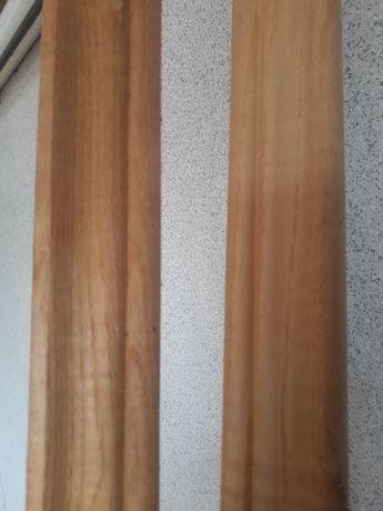Плінтус дубовий висота 4см, ціна за м/п