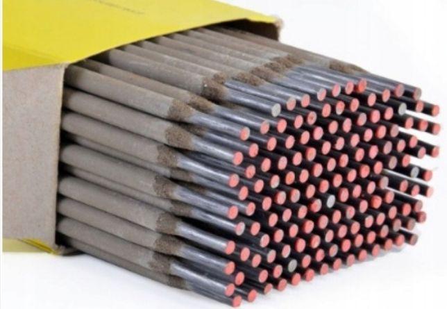 Elektrody spawalnicze 2.5,3,25,4.0 RÓŻOWE RUTYLOWE Drut spawalniczy0,8
