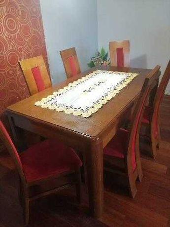 Stół z 6 krzesłami