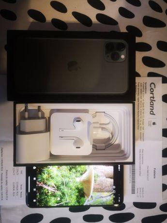 Sprzedam iPhone 11 pro max 256 zielony bez skazy GWARANCJA Cortland