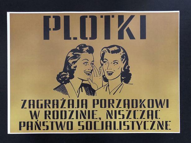 Plakat poster PRL
