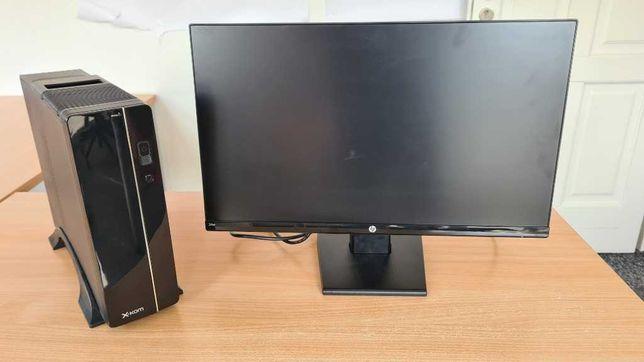Komputer x-kom H&O 100 i3-8100/8GB/240/W10 + monitor LCD 24 cale