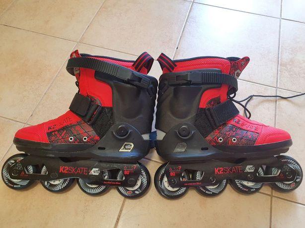 Роликовые коньки K2 il Capo 2014 (42-43) для фрирайда/фристайла