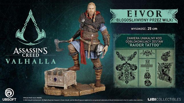 Assassin's Creed: Valhalla - Figurka Eivor Błogosławiony Przez Wilki