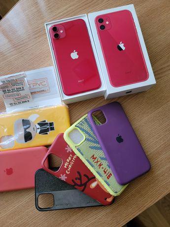 iPhone 11 64gb Red официальный в идеальном состоянии.