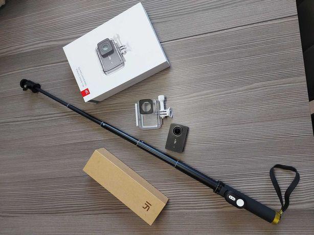 Kamerka sportowa YI 4k+ Action Camera wodoodporna Xiaomi+ selfie stick