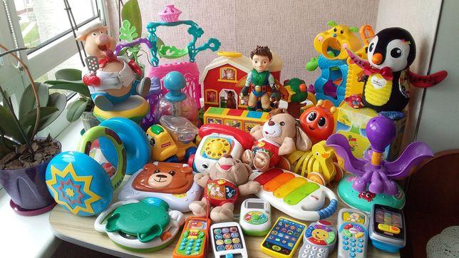 Іграшки Vtech, ELC, Lamaze, Fisher-Price