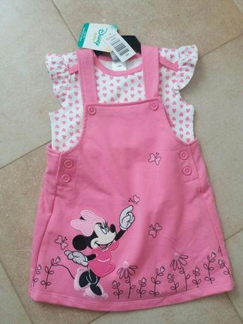 Sukienka + body Disney Minnie 2-pak