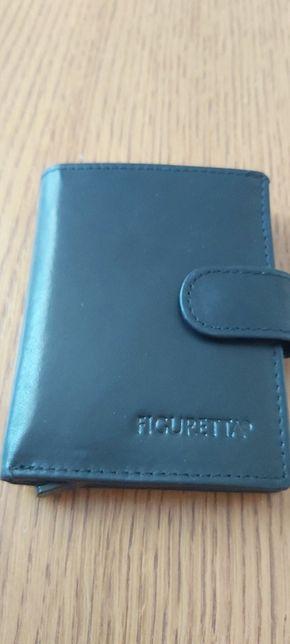 Skórzany męski portfel Figuretta