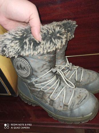 Для девочки термо обувь
