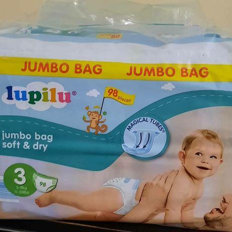 Підгузники та трусики Lupilu (aналог Pampers premium care)