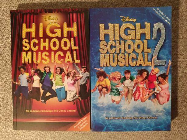 High School Musical 1 i 2 książki