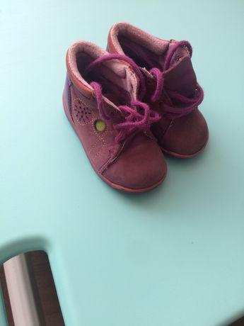 Продам кожаные итальянские демисезонные ботинки Baren Schuhe, 19рр.