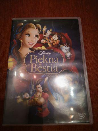 Piękna i bestia Disney dvd pl