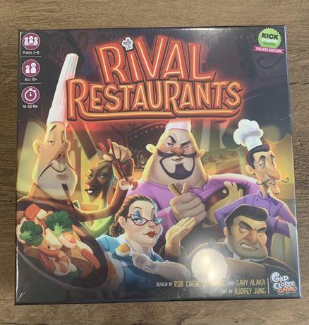 Rival Restaurants gra planszowa gry planszowe gra karciana wymienię
