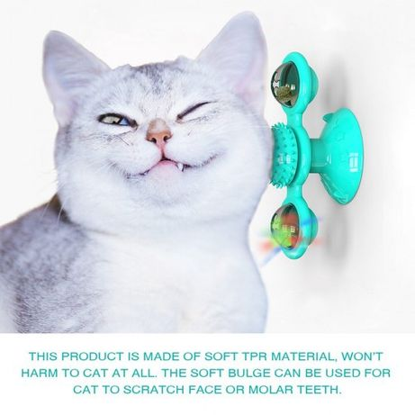 Brinquedo giratorio para gato