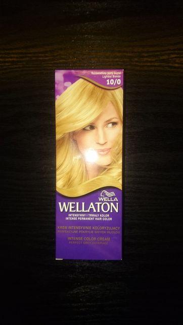 Wellaton wella 10/0 rozświetlony jasny blond farba krem koloryzujący