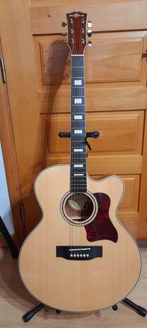 Reservada-Guitarra eletro-acústica Jumbo