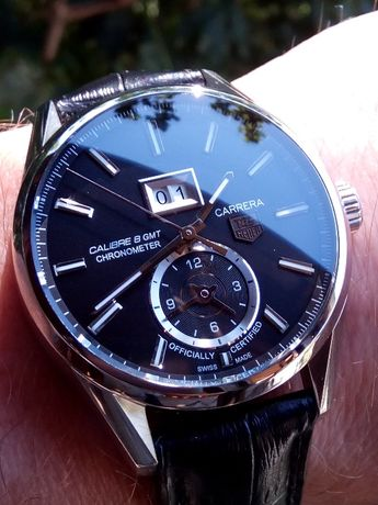 Tag Heuer Carrera GMT, Big Date.
