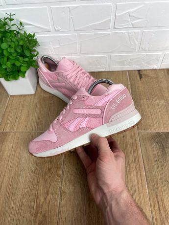 Кроссовки женские Reebok GL6000 original 35.5 стильные розовые 22.5см