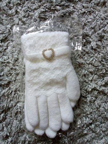 Белые перчатки новые