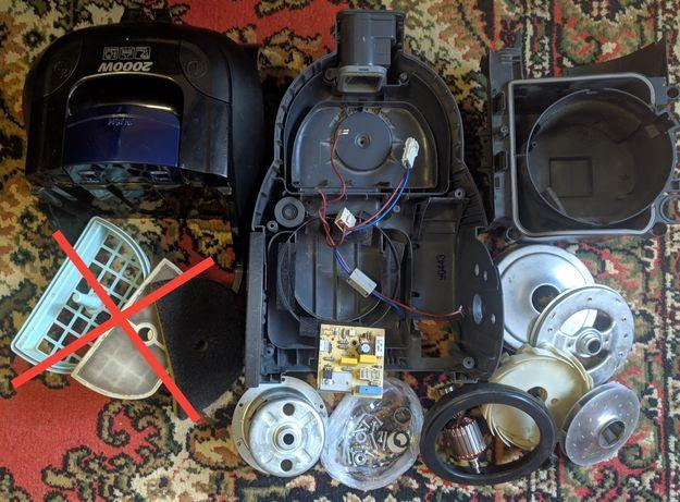 Запчасти/разборка пылесос LG VK70601NU корпус, фильтр