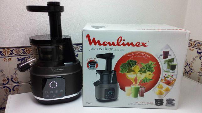 Máquina de sumos Moulinex Centrifugadora Juice & Clean NOVA