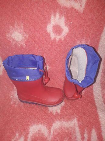 Сапоги сапожки черевики резиновые 25р