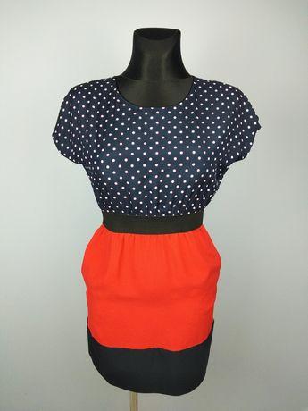 Sukienka ZARA w kropki XS/S