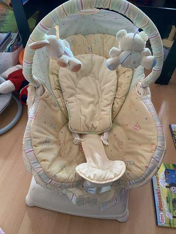 Leżaczek siedzisko dla niemowlaka