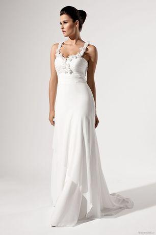 Suknia sukienka ślubna Elizabeth Passion r. 38 biała