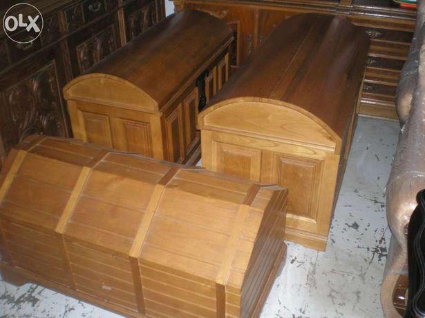 Arcas em madeira