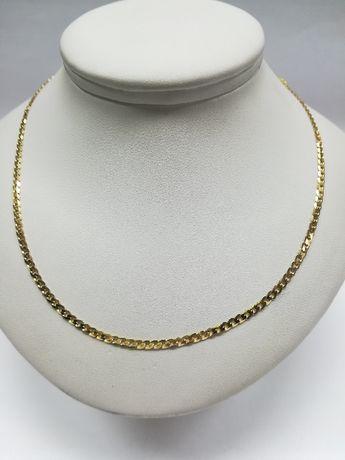 Złoty łańcuszek złoto 585 pancerka