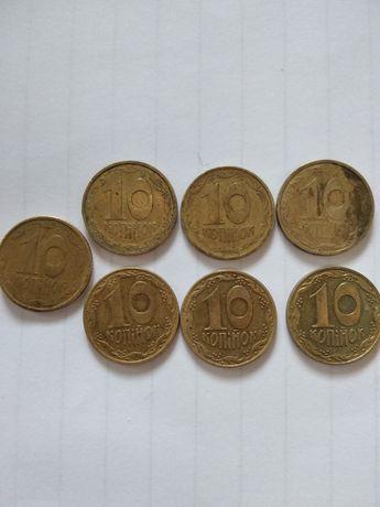 Монета 10коп