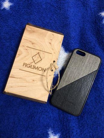 Чехол на IPhone se из Дерева figlimon